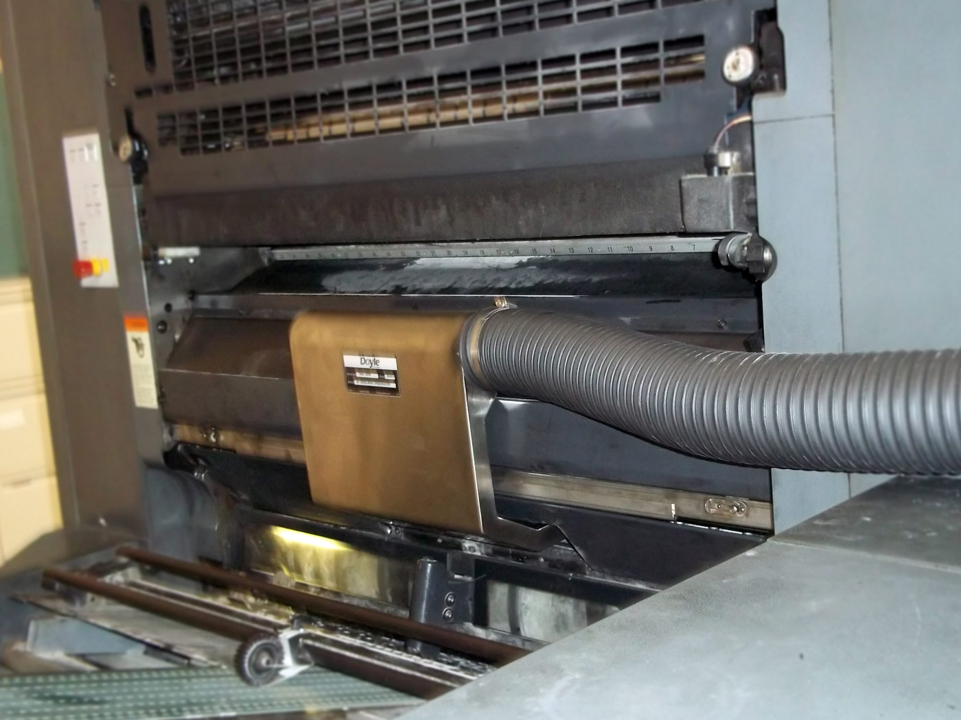 Doyle Installation on Commercial Printing application